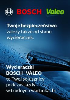 Wycieraczki Bosch i Valeo - najlepszy wybór dla twojego auta