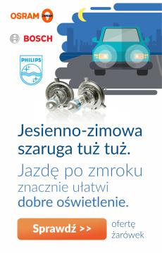 Żarówki - dobre oświetlenie auta to podstawa